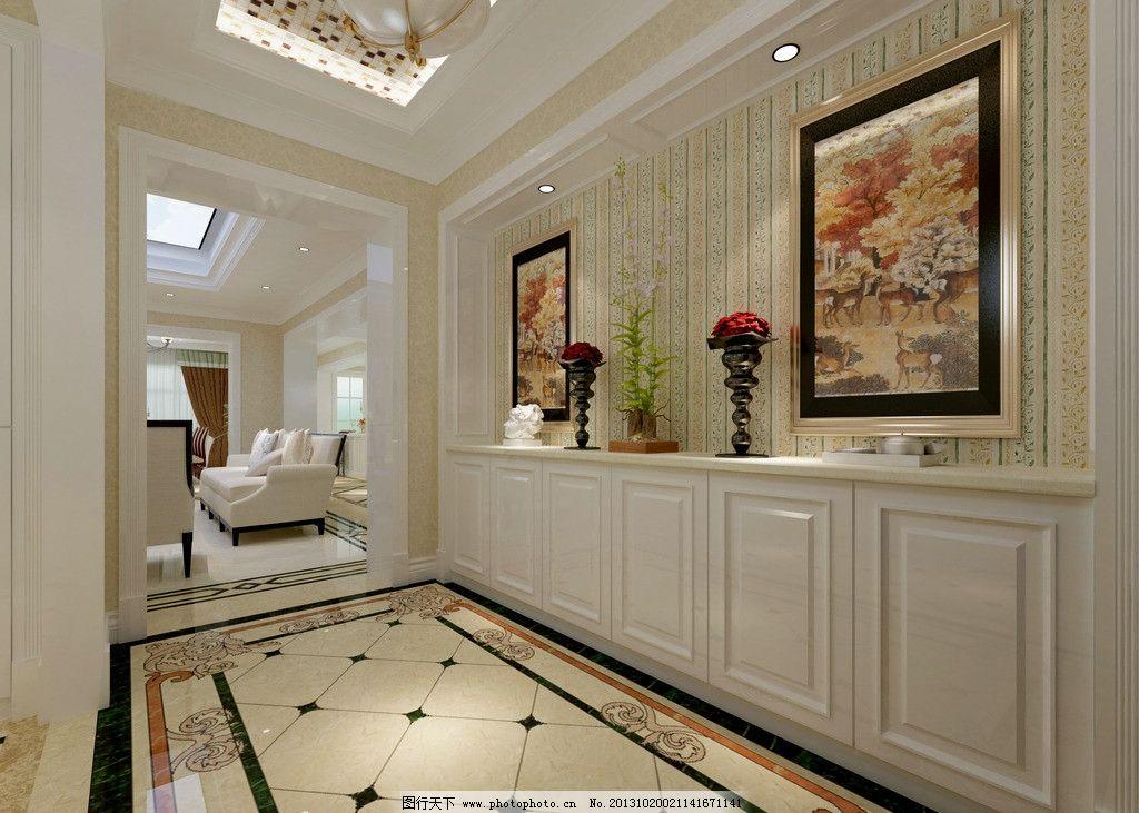 玄关 家装 别墅 欧式 鞋柜 3d作品 3d设计 设计 72dpi jpg