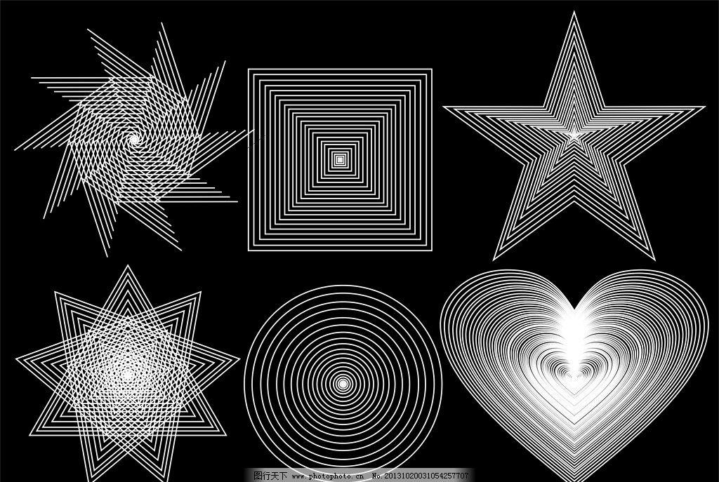 突出的五角星 金字塔