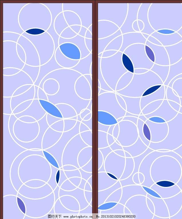 玻璃门欧式花纹
