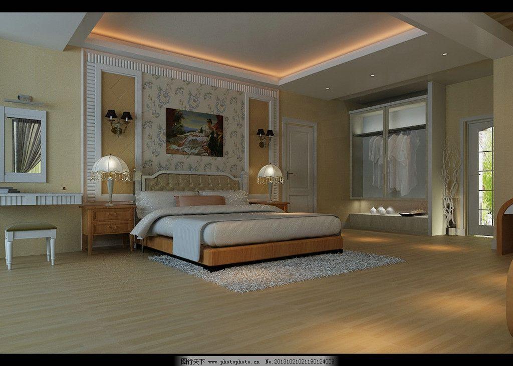卧室效果图 欧式卧室 欧式卧室效果图 主卧室 欧式风格 室内设计