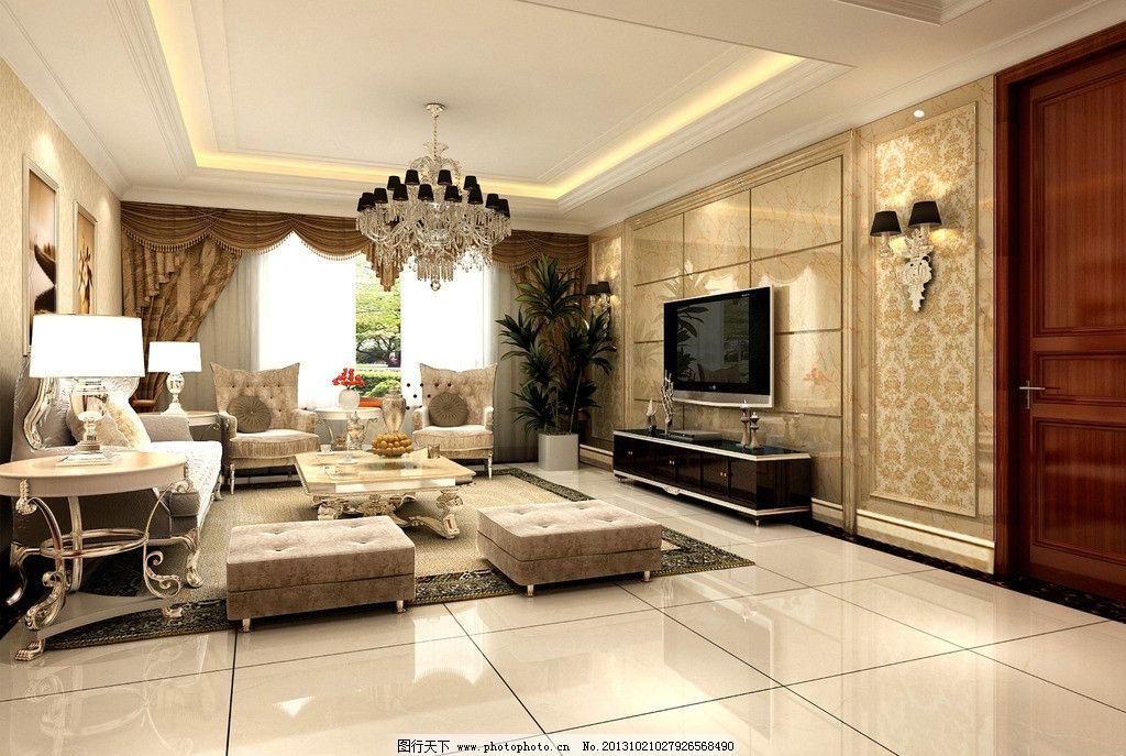 室内客厅效果图        室内效果图 客厅效果图 装潢设计 300dip 沙发