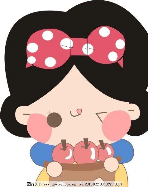 可爱卡通小娃娃图片