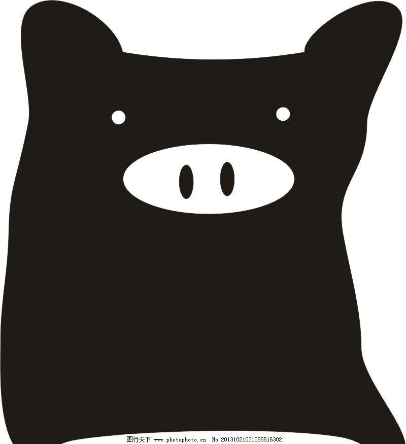 猪猪枕头 枕头 猪 猪猪 枕 其他设计 广告设计 矢量 cdr