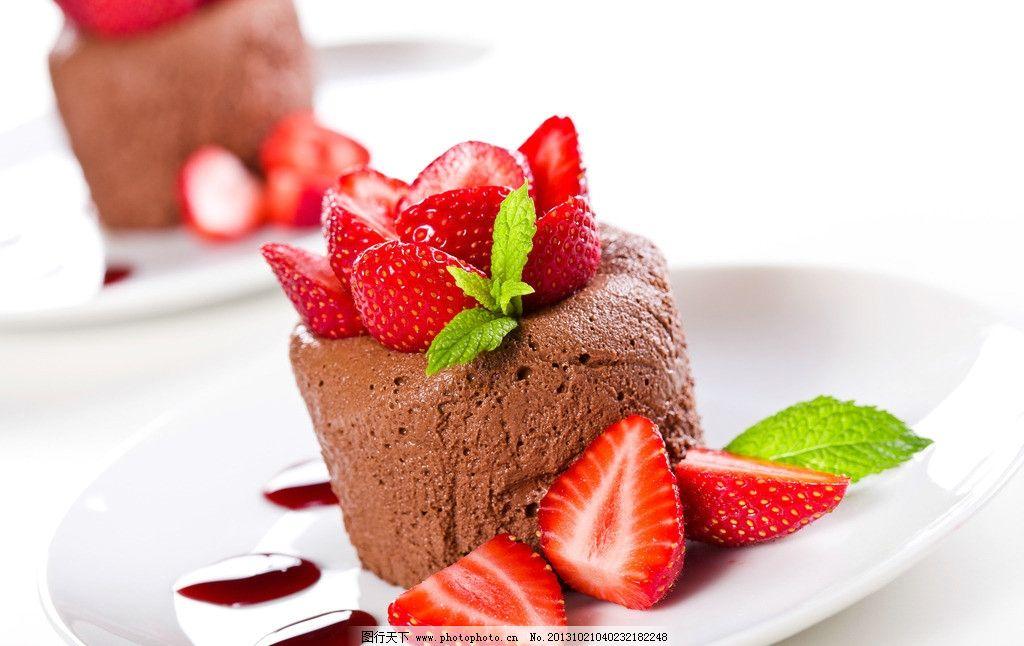 慕斯/巧克力慕斯甜点图片