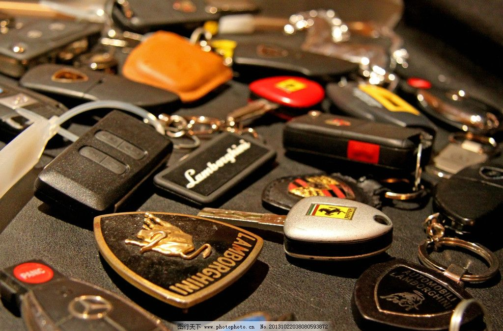 超跑钥匙 奔驰 兰博基尼 阿斯顿马丁 法拉利 跑车钥匙 交通工具 现代