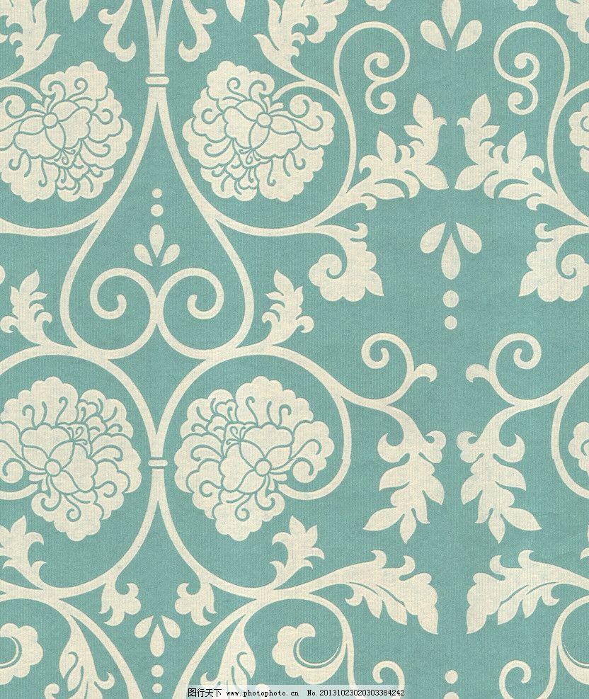 现代花纹壁纸 现代 壁纸 花纹 纹理 贴图 花边花纹 底纹边框 设计 200图片