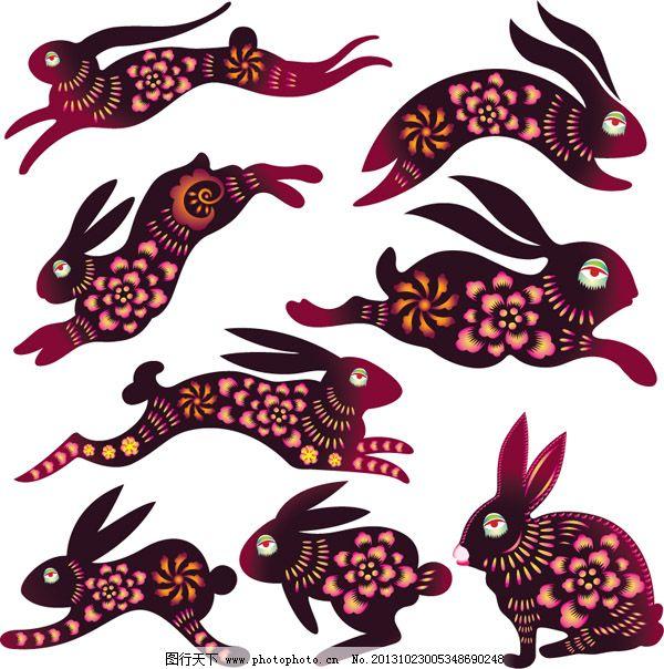 这《十二生肖》剪纸里的小动物们