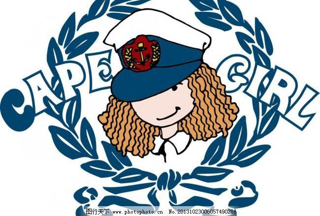 徽章 本本封面 插画 创意 创意插画 创意设计 儿童服装 儿童绘画