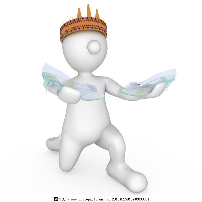ppt素材 天使 ppt素材 3d小人 天使 下跪 图片素材 卡通动漫可爱图片