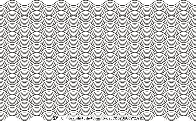 海浪纹路免费下载 背景 海浪 花纹 灰色 海浪 背景 花纹 灰色 矢量图