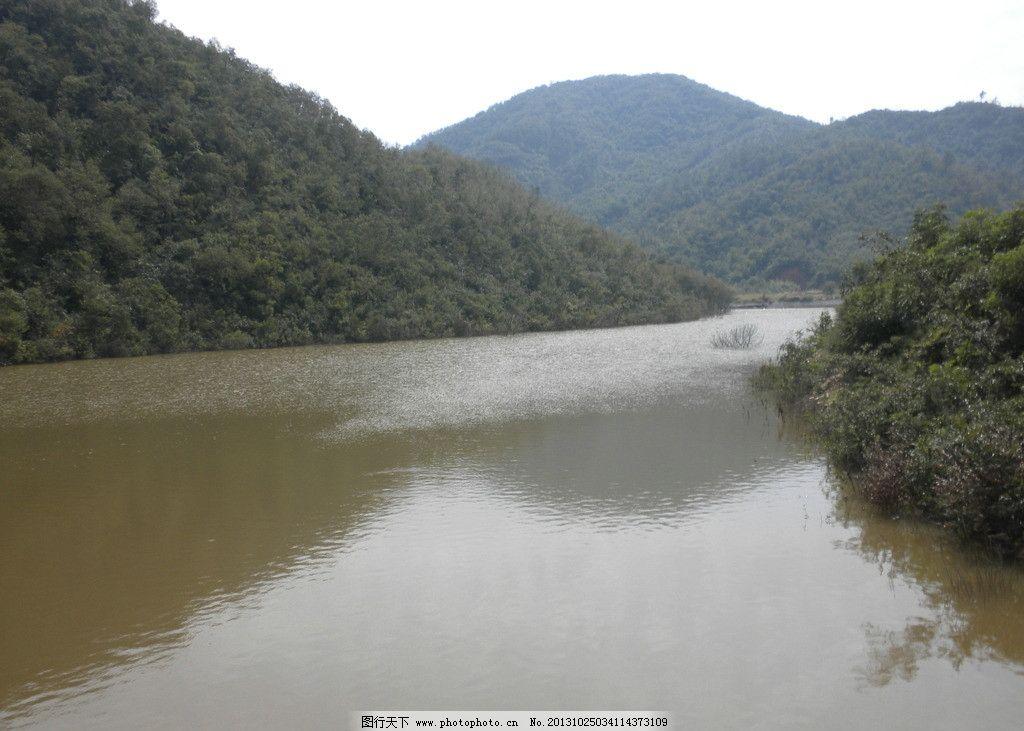水库 河南 驻马店 薄山 确山 风景 自然风景 旅游摄影 摄影 300dpi