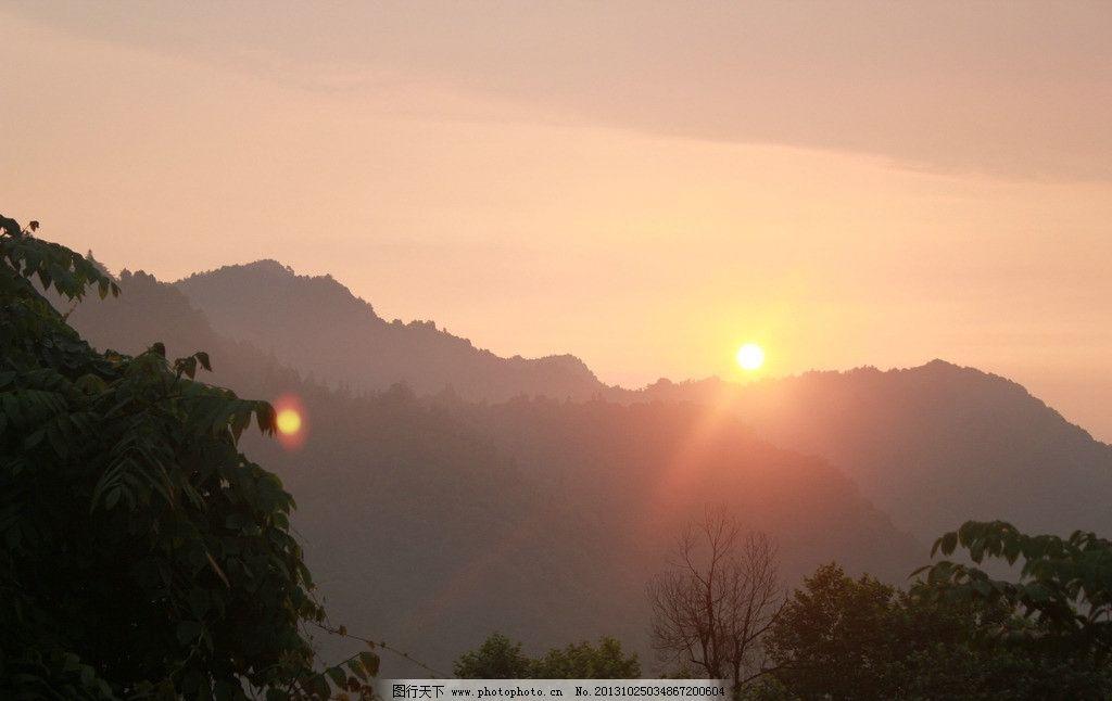 日出 峨眉山 峨眉 东方红 太阳升 峨眉山日出 自然风景 自然景观 摄