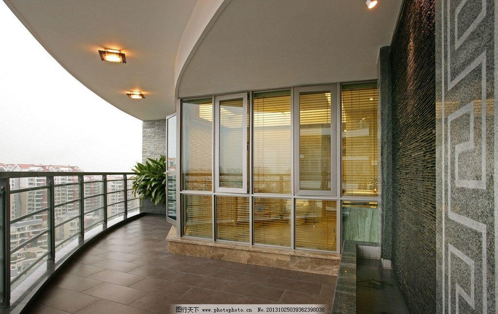 高楼阳台图片
