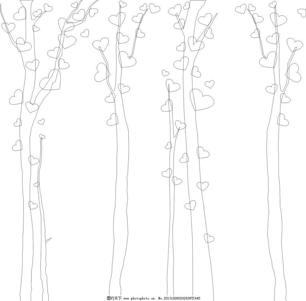 儿童画树子