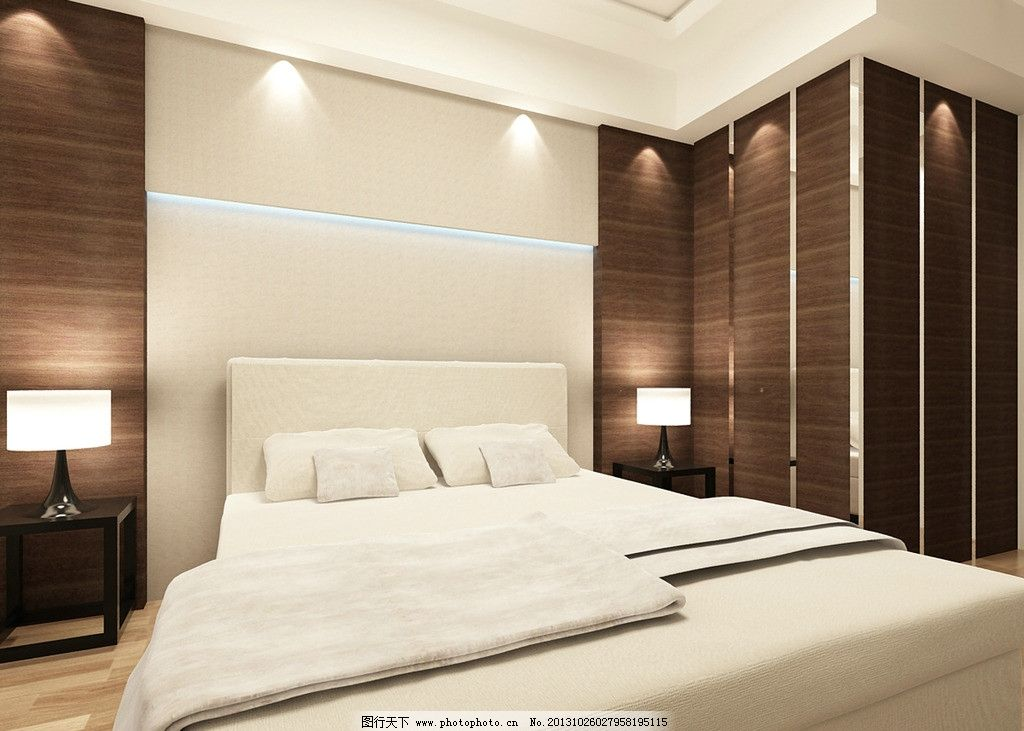 现代 简约 后现代 现代卧室 床铺 室内设计 环境设计 设计 72dpi图片