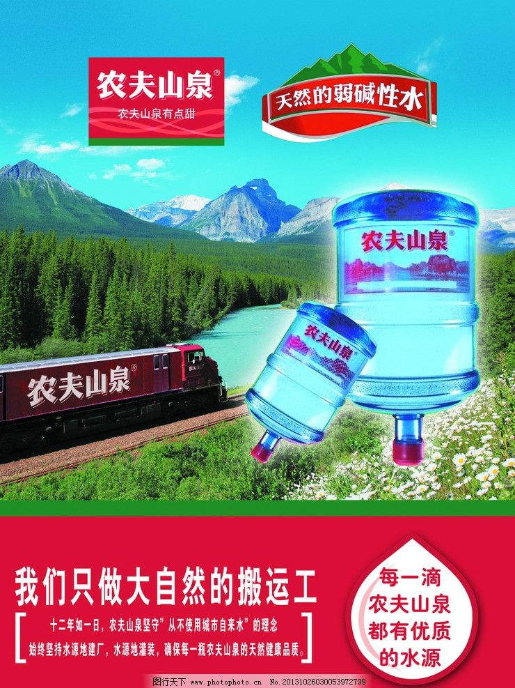 水海报 海报 招贴 水 背景 水桶 矿泉水 海报设计 广告设计模板 源