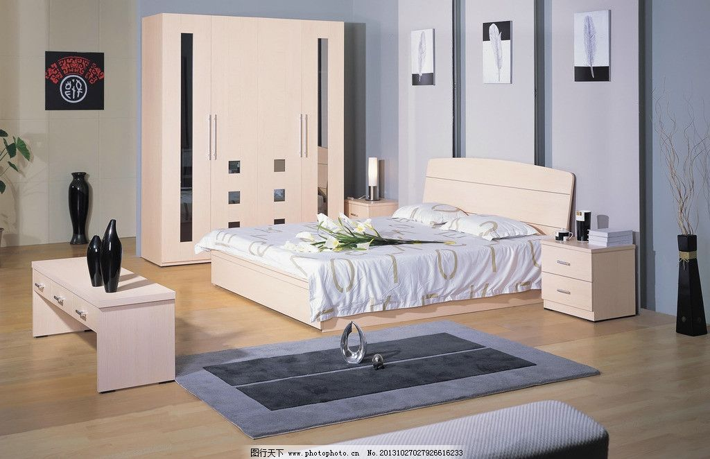 套房家具图片_室内设计_环境设计_图行天下图库