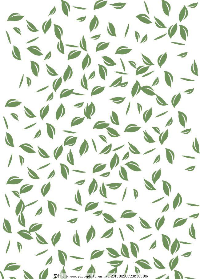 叶片 叶子 茶叶 茶 茶叶矢量 背景 叶片 叶子 矢量图 花纹花边