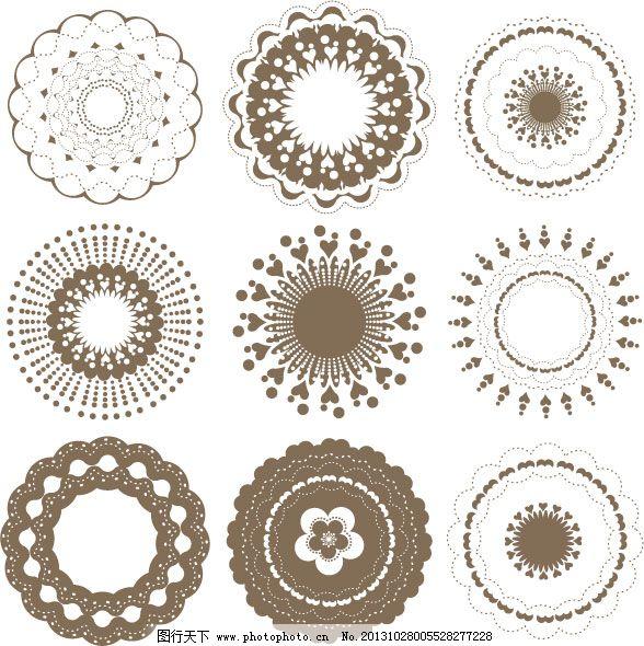 艺术简欧矢量素材免费下载 古典 花纹 咖啡 欧式 艺术 矢量 艺术 欧式