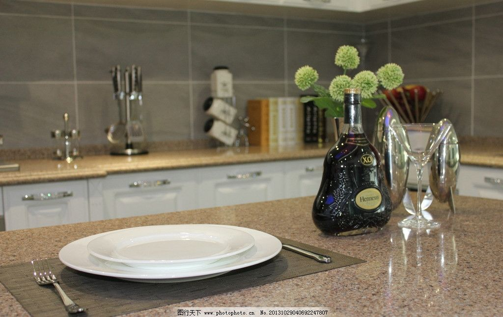 厨房物品      物品 简约 风格 装修 餐具厨具 餐饮美食 摄影 72dpi