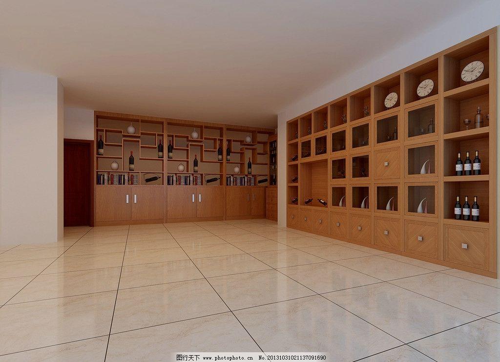 酒柜设计 设计 酒柜 木柜 精细 柜子 3d作品 3d设计 300dpi jpg