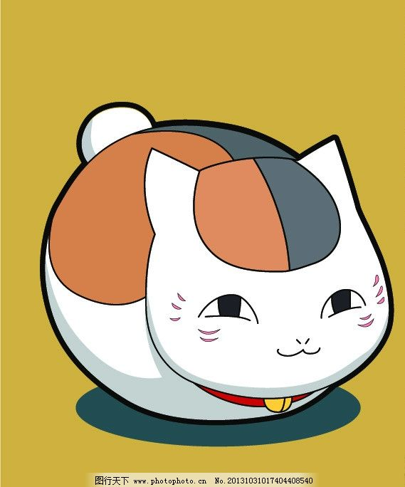 大胖猫q版头像可爱