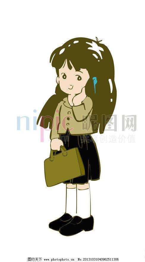 卡通男孩 卡通女孩 可爱卡通 可爱 卡爱卡通人物 小男孩 小女孩 活泼