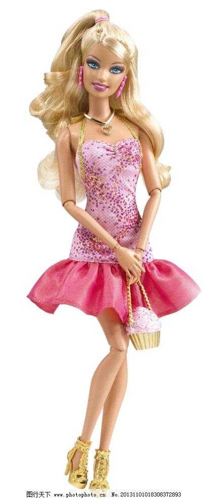 可爱芭比娃娃设计素材图片图片