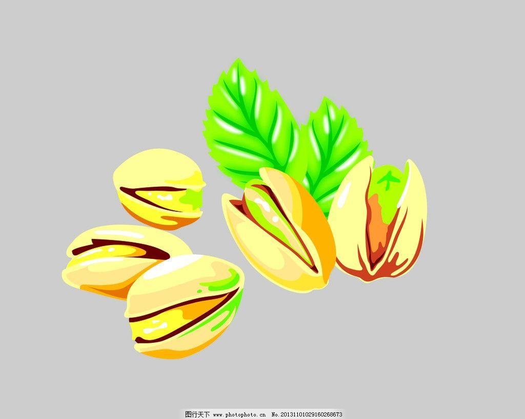开心果 果 开心 坚果 坚锅 图库材料 包装设计 广告设计模板 源文件