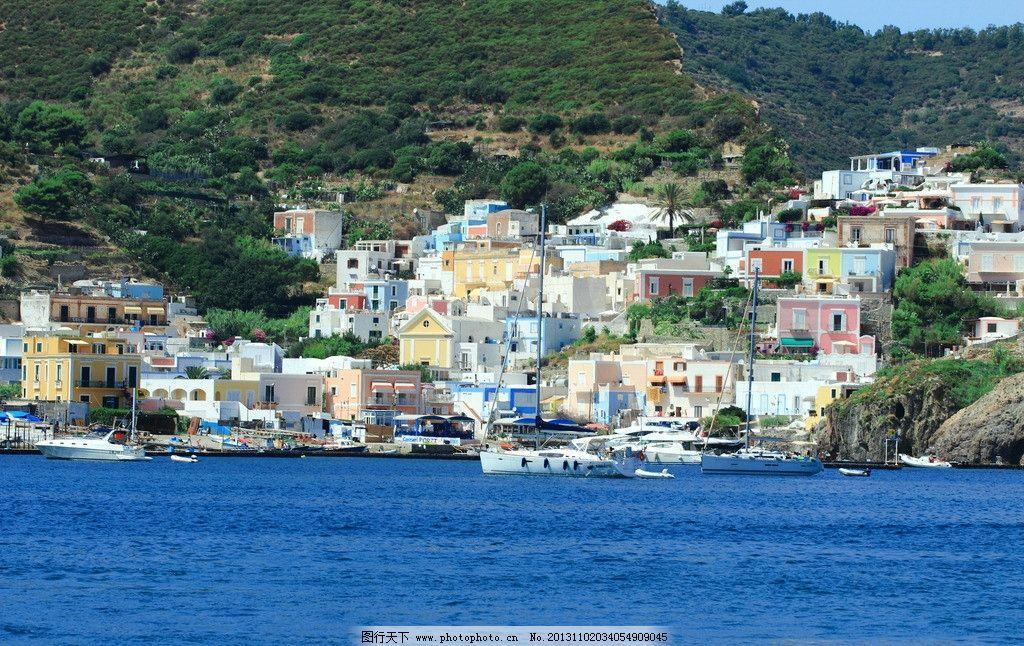 意大利蓬扎岛图片