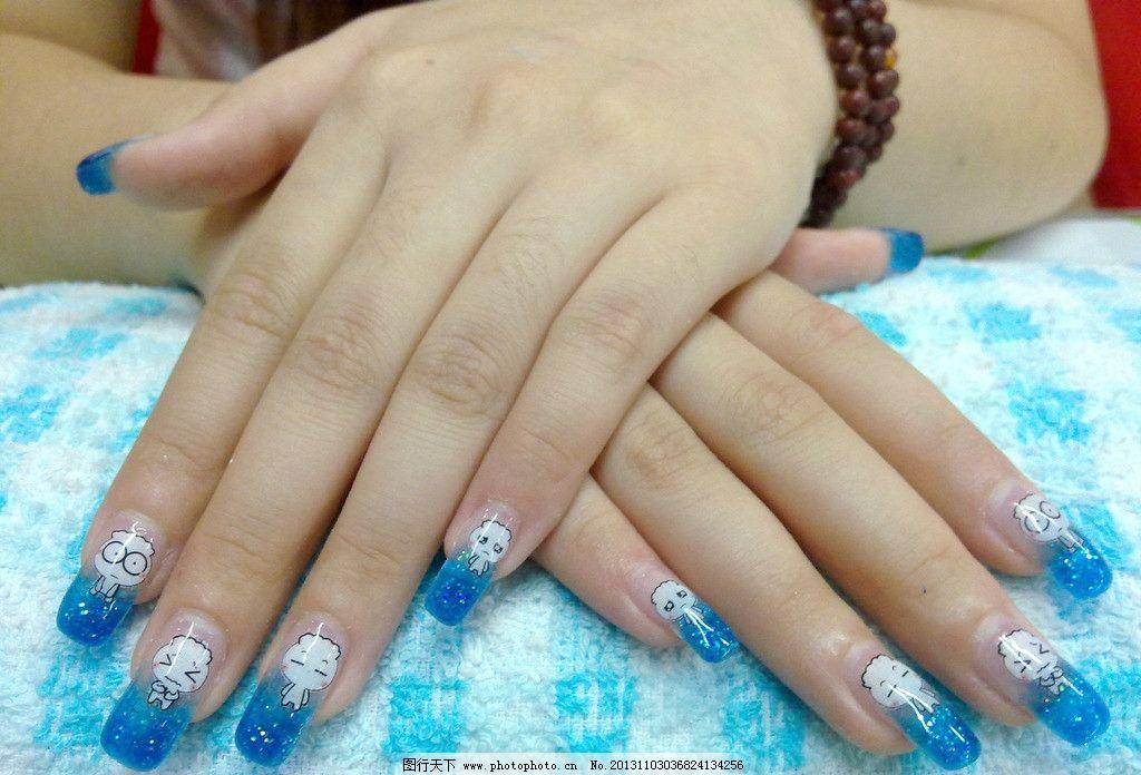 美甲素材 蝴蝶结 法式美甲 甲图片素材下载 指甲 护理 手部 贴花