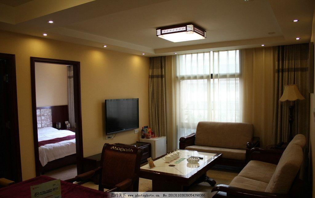 酒店房间素材图片_室内摄影