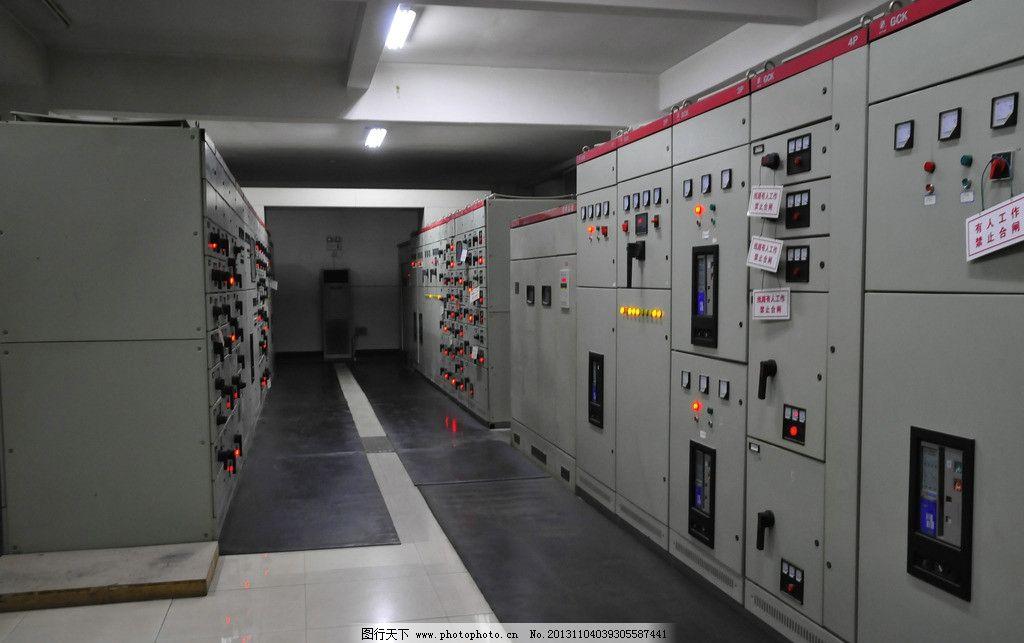 配电间 医院 业绩工程 电力工程 配电柜 配电工程 室内摄影 建筑园林