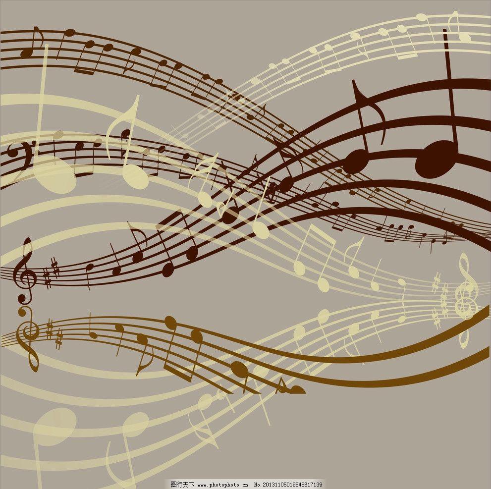 音乐背景墙 音乐符号模板下载 音乐符号 音乐 符号 cdr 创意 旋律图片