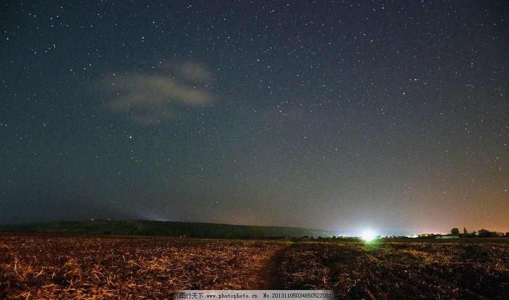 星空 夜空 夜晚 星星 天空 自然景观 自然风光 自然风景 摄影 72dpi