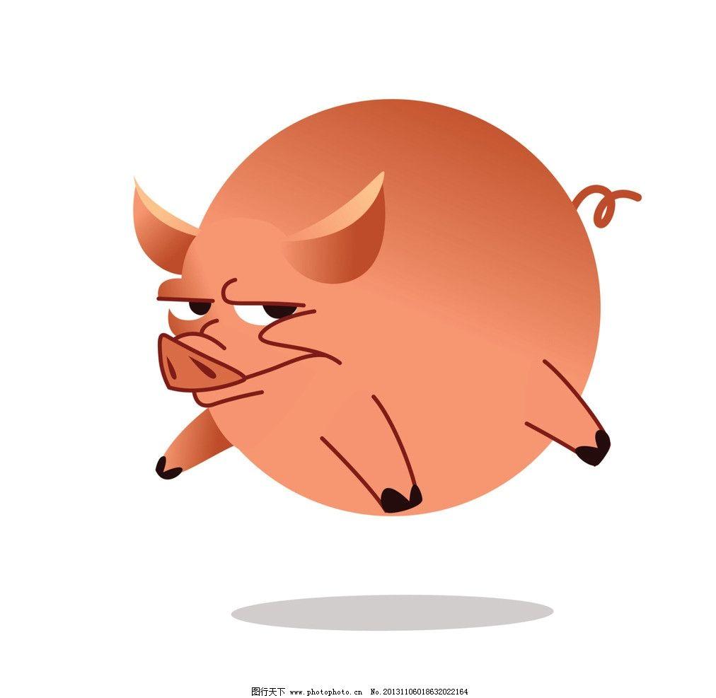 三个动物的故事图片小猪