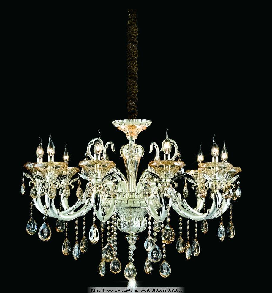 水晶灯(抠图) 水晶灯抠图 蜡烛灯 灯饰行业 灯罩 品牌 欧式