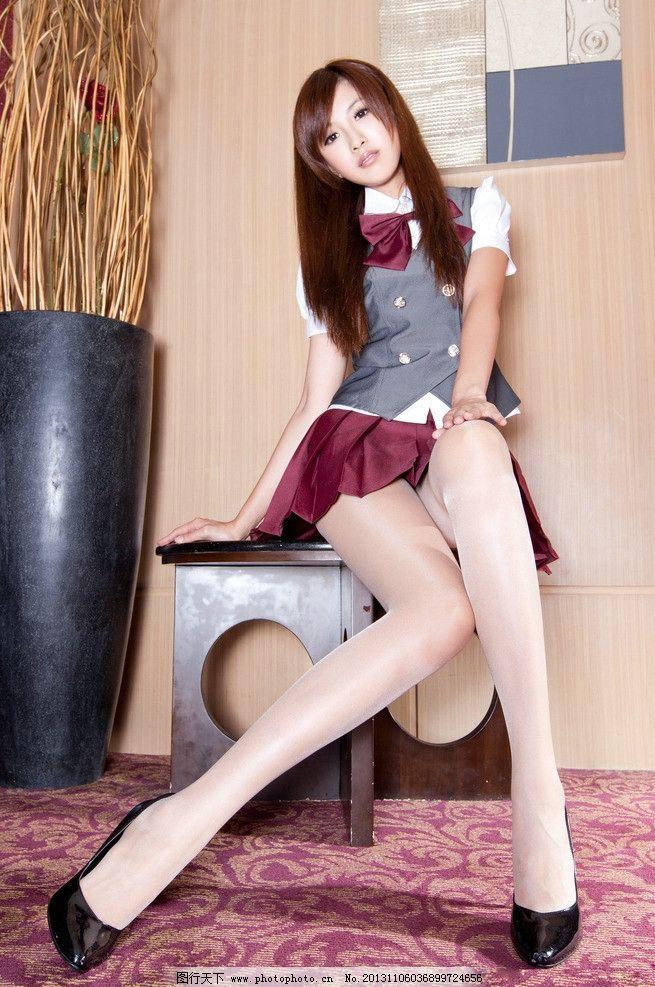 丝袜美腿 高清 性感学生装