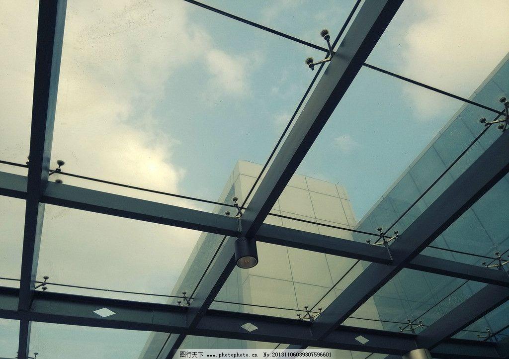 玻璃顶 时尚 建筑 玻璃 顶部 结构 室内摄影 建筑园林 摄影 72dpi jpg