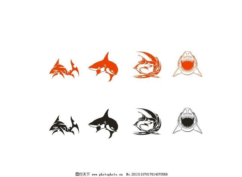 鲨鱼矢量 鲨鱼 动物 海洋