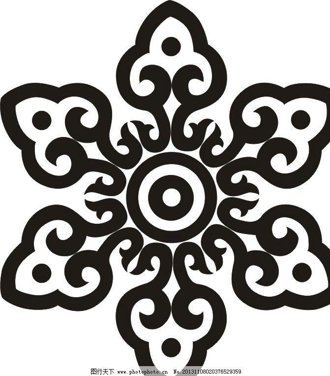花纹 图案 花卉 矢量图 纹路 花纹花边 底纹边框
