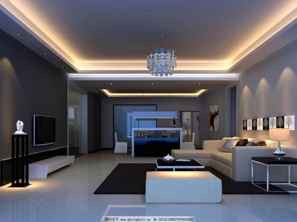 公寓室内 公寓室内设计 黑白灰 公寓室内设计黑白灰 室内设计 室内