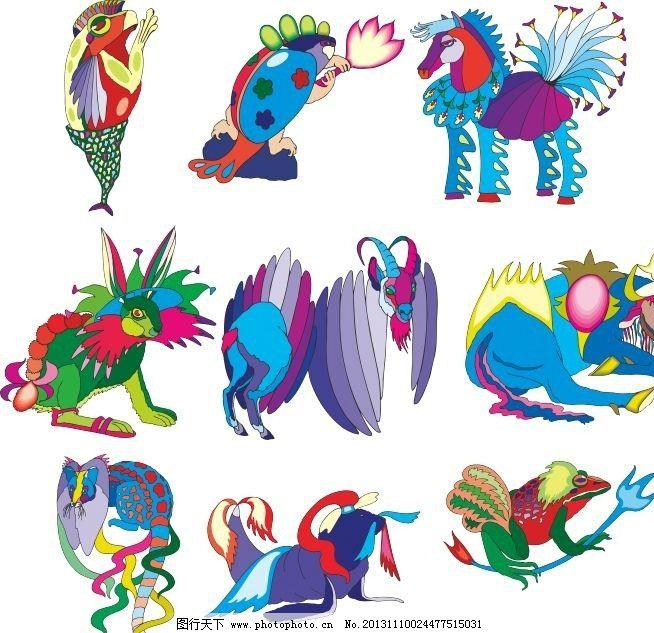 动物世界 马 羊 海豚 海报 松鼠 剪影 动物剪影 经典动物素描图 素描