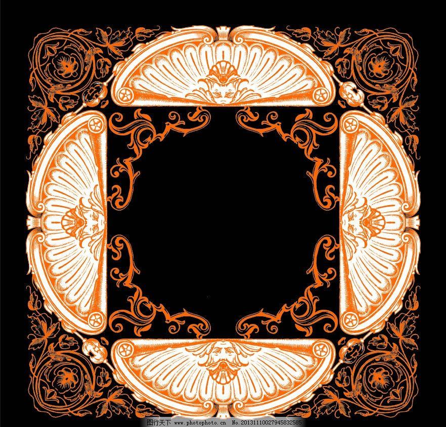 欧式天花图案图片