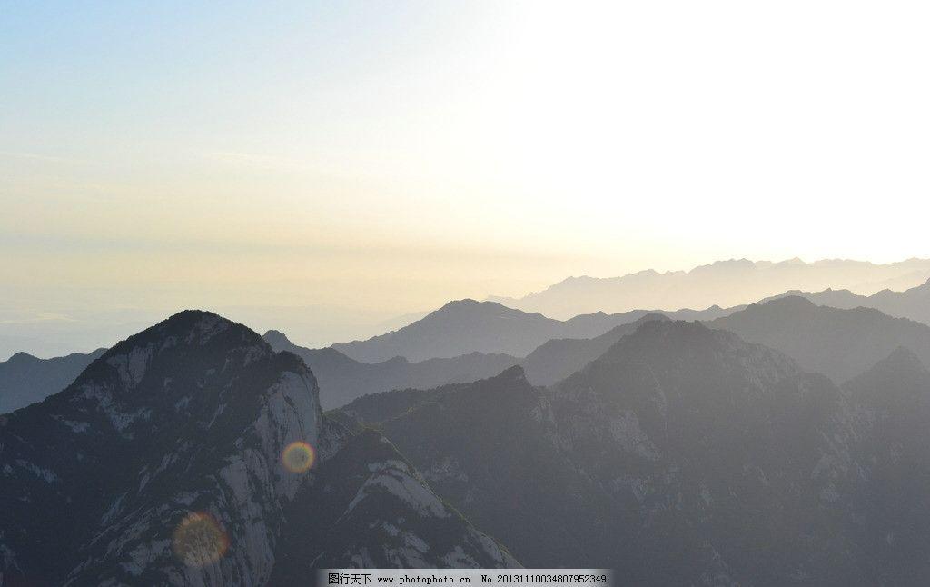 华山山脉高清照 石头 华山素材 华山摄影 自然风景 自然景观