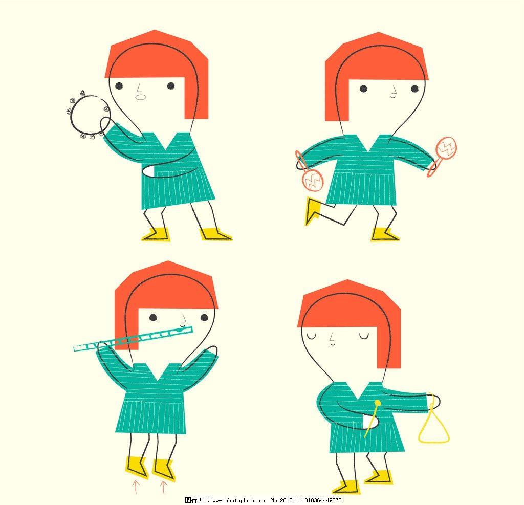 少数民族小人简笔画_舞蹈图片卡通人物图片-卡通人物图片/舞蹈卡通人物/卡通人物 ...