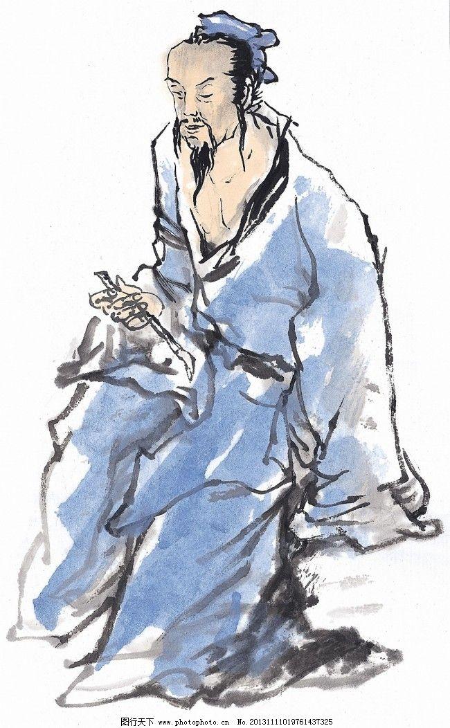 中国人物水墨画免费下载 丹青 古代 国画 人物 水墨 素材 古代 人物