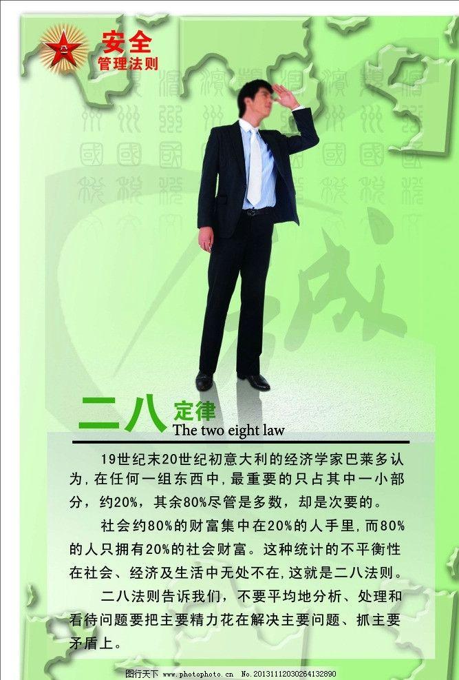 二八定律 展板 广告展示 kt板 亚克力板块 展板模板 广告设计模板 源