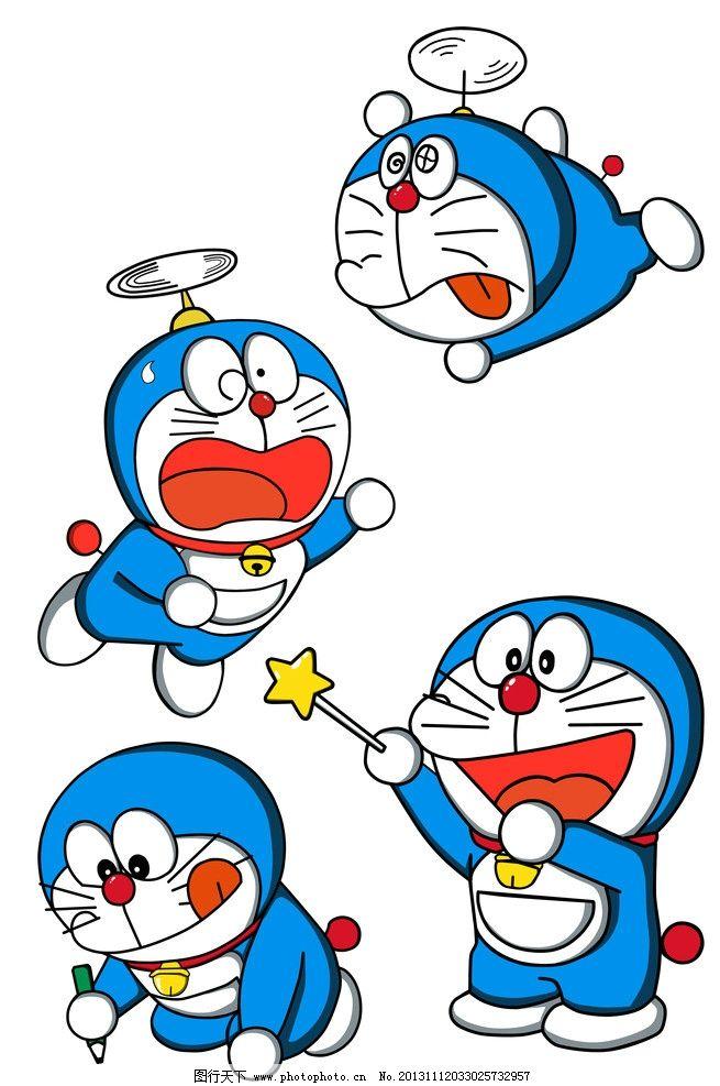 哆啦a梦 叮当猫 手绘哆啦a梦 动画角色 卡通形象 手绘卡通 儿童画