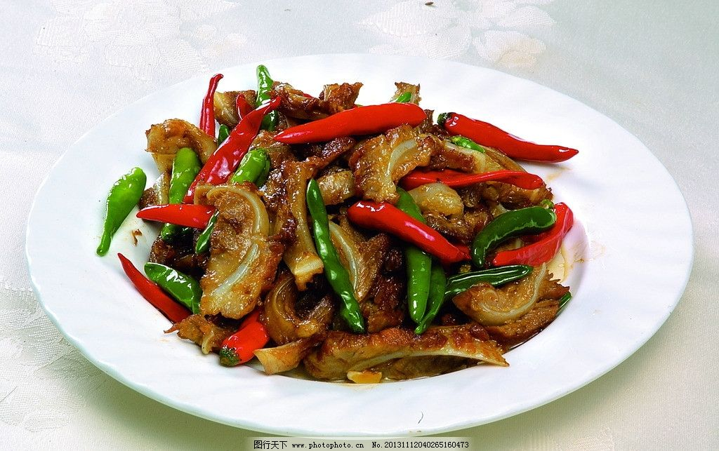 小炒猪脆骨 小炒 猪脆骨 热菜 炒菜 东北菜 传统美食 餐饮美食 摄影 3